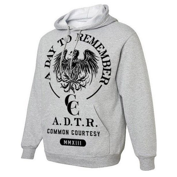Classic Heather Grey Common Courtesy Hoody