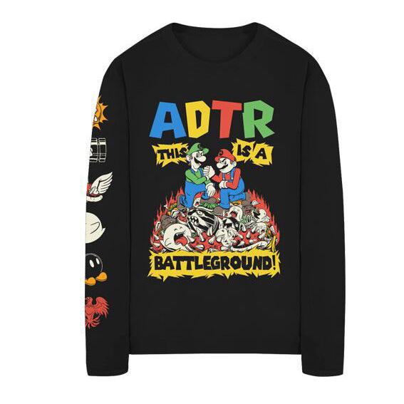 BATTLEGROUND LONG SLEEVE TEE