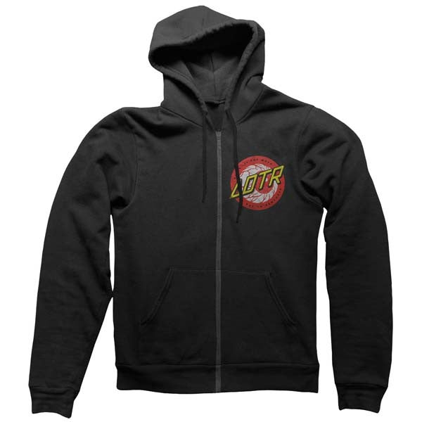 Black Eye Ball Zip Hoody