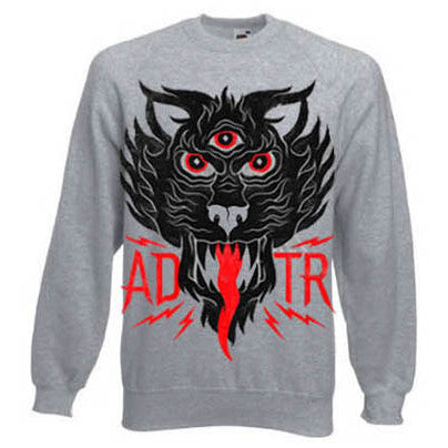 Heather Grey Tiger Style Sweatshirt