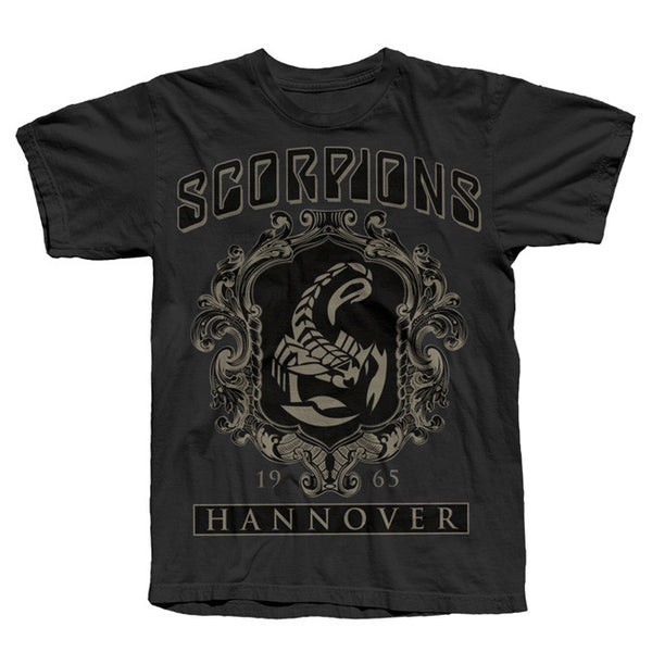 FRAMED SCORPION BLACK TEE