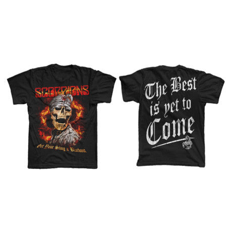 Black Skull Best Is Yet To Come T-Shirt