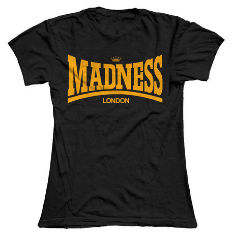Black Madsdale Ladies T-Shirt