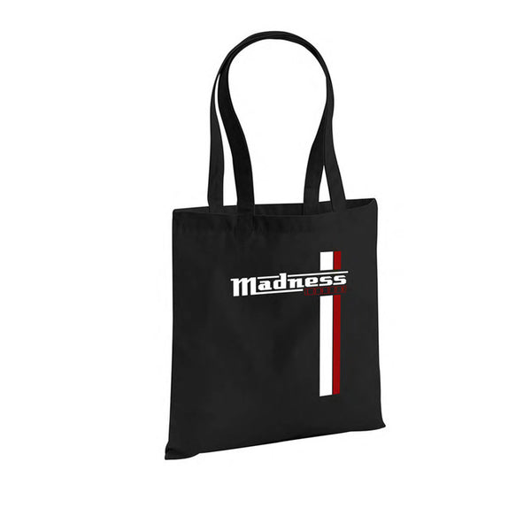 2 Stripe Tote bag black