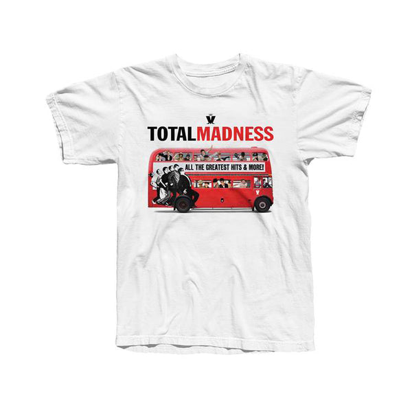 TOTAL MADNESS WHITE TEE