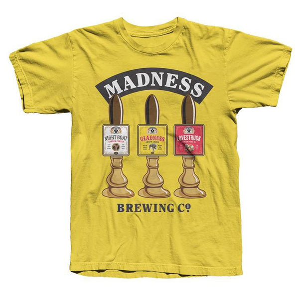Madness Brewing Co Tap Tee Daisy