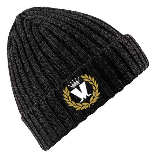 Ribbed Laurel Beanie