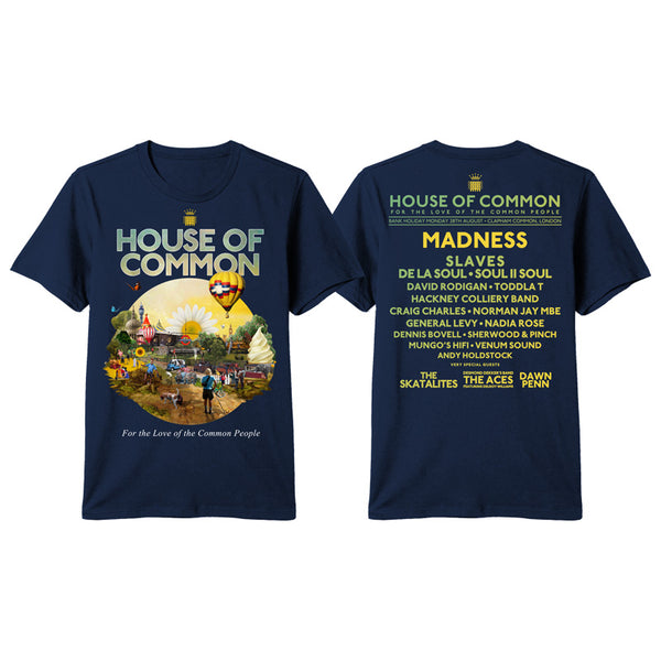 HOUSE OF COMMON 2017 EVENT TEE
