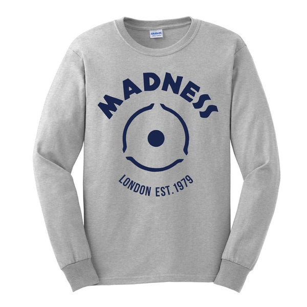 Blue Beat Sport Grey Sweatshirt