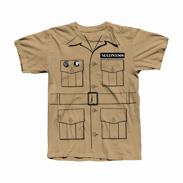 Cairo Safari Tan T-Shirt