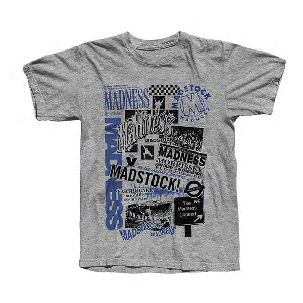 Madstock T-Shirt Sport Grey