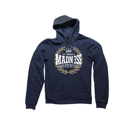 Navy Laurel Leaf Logo Hood
