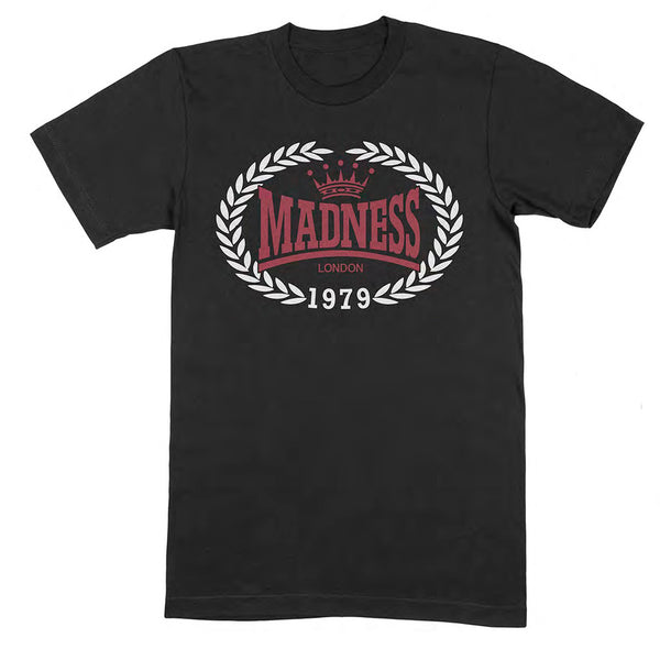 1979 CREST LOGO BLACK T SHIRT