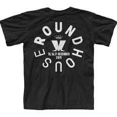 ROUNDHOUSE EVENT BLACK T-SHIRT