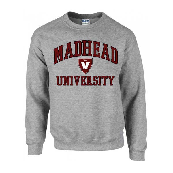 Grey MAD HEAD Uni Sweatshirt