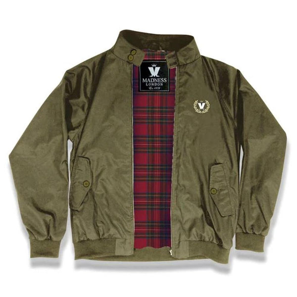 Limited Edition Madness Harrington Olive Jacket