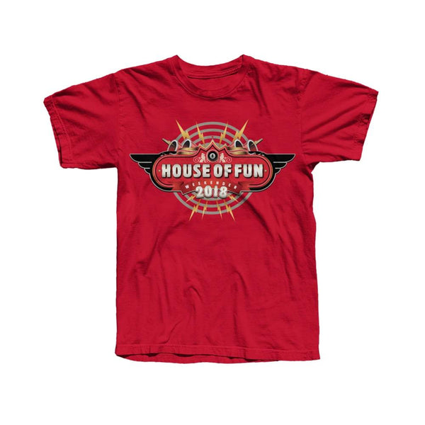 HOF 2018 EVENT T-SHIRT RED