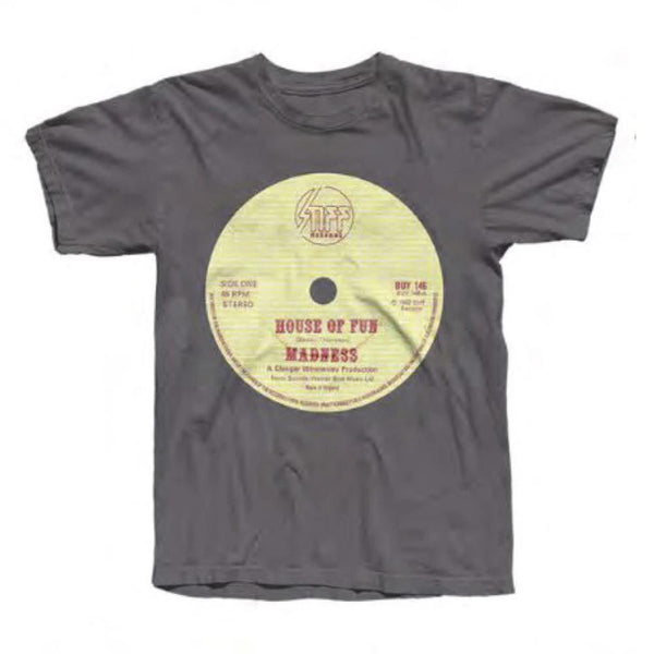 HOF Dark Heather Record T-SHIRT