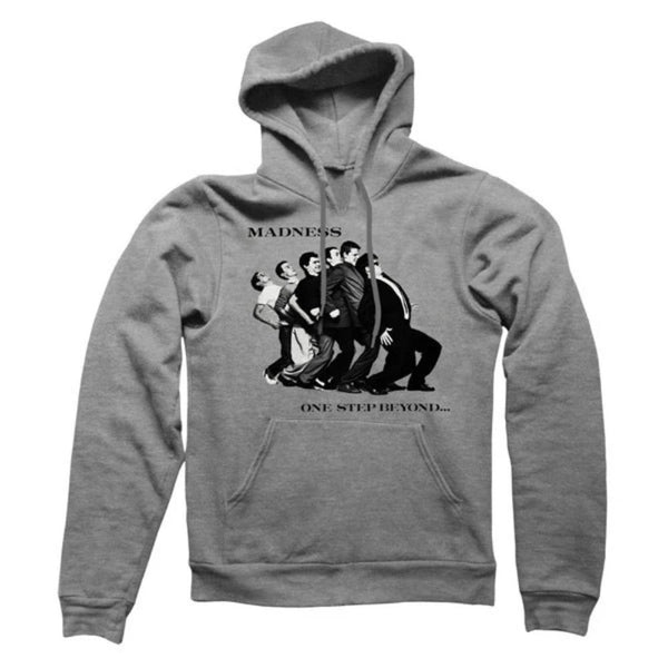 One Step Beyond Pullover Hoody Grey