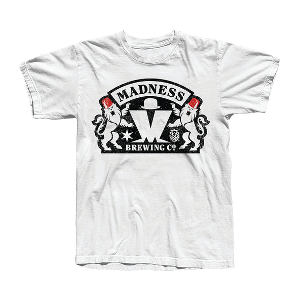 Brewing Co Logo White T-Shirt