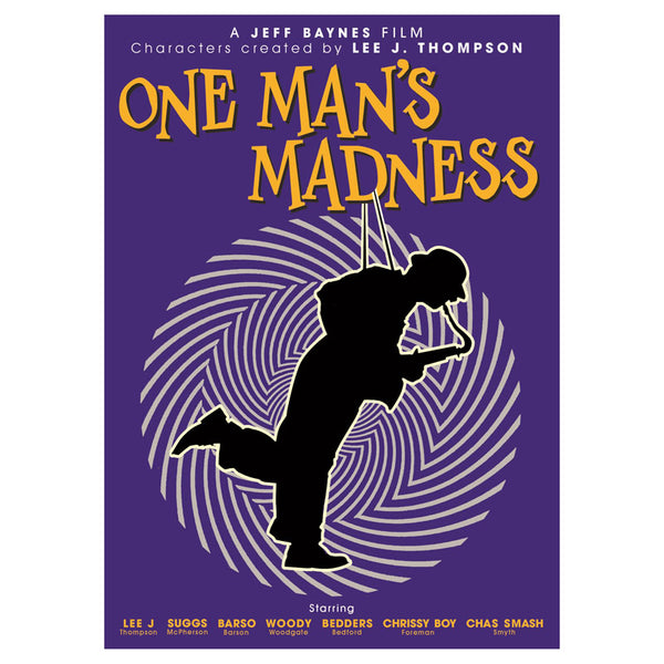 One Man's Madness DVD