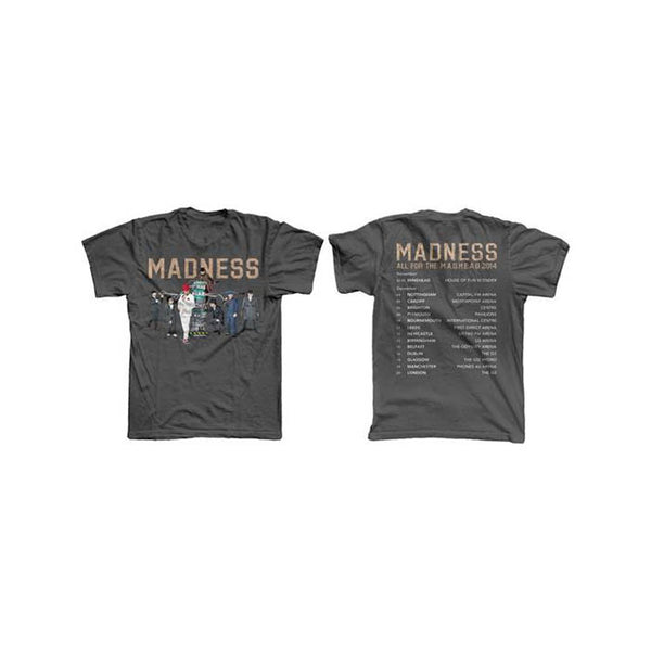 All For The Madhead Tour 2014 Grey T-Shirt