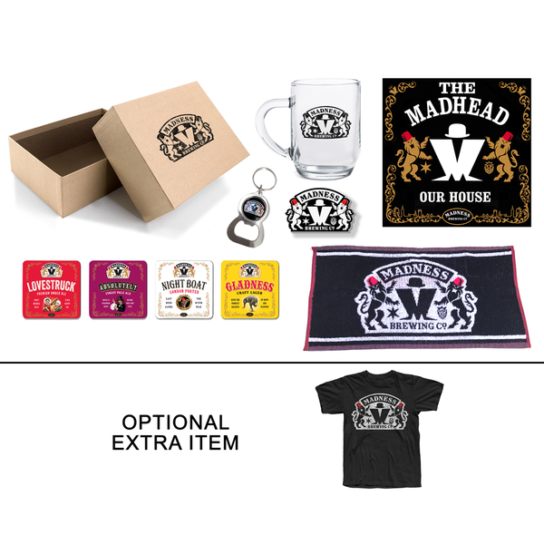 The Madness Brewing Co Limited Edition Gift Set