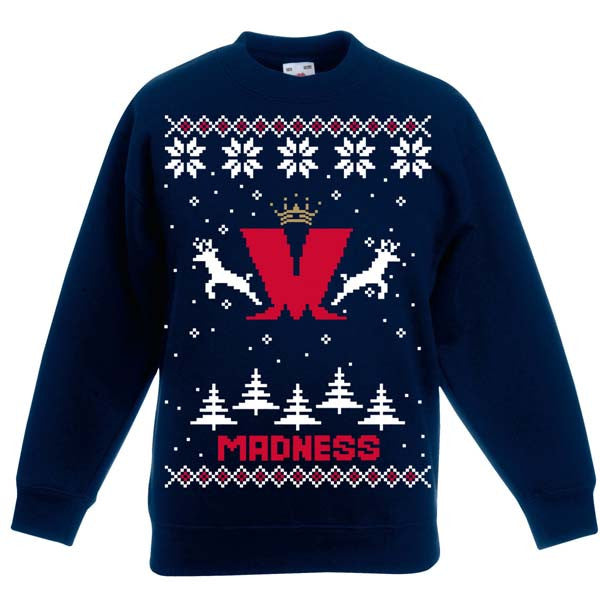 Madness Kids Christmas Jumper