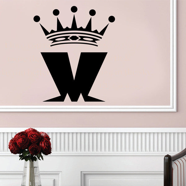 'M' Logo Wall Art Sticker