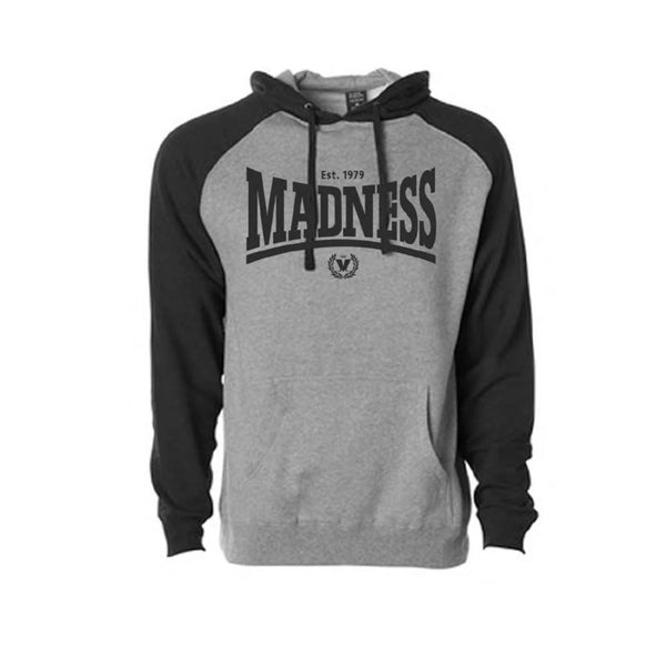 Madsdale Grey and Black Hoody