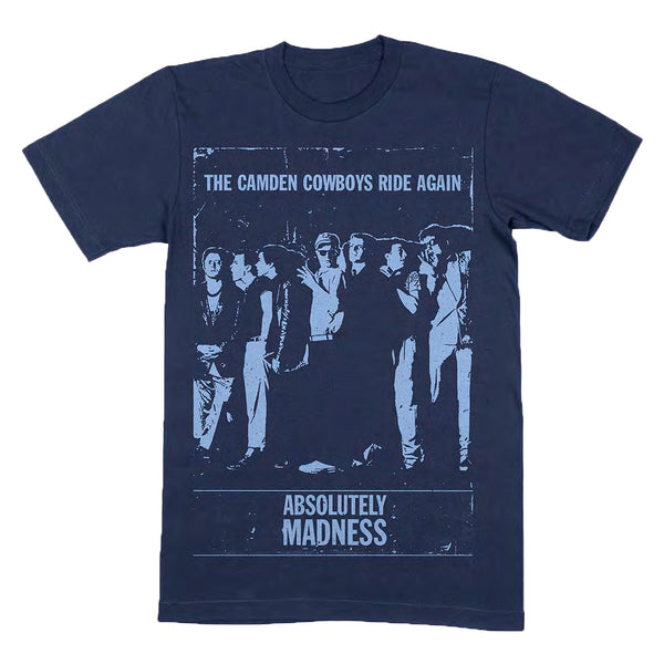 CAMDEN COWBOYS NAVY T SHIRT