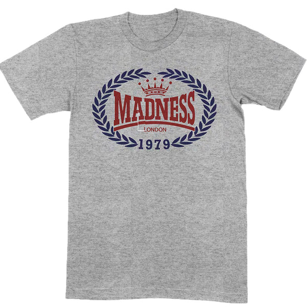 1979 CREST LOGO GREY T SHIRT