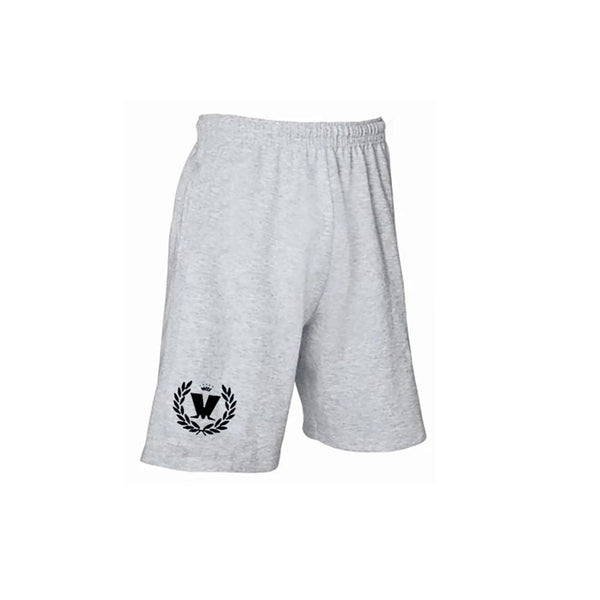 Laurel Logo Grey Shorts