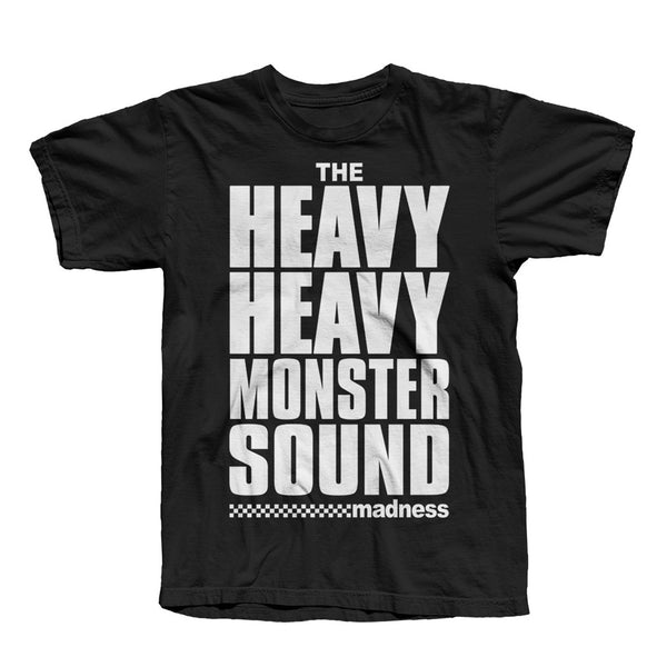 MONSTER SOUND TEE BLACK