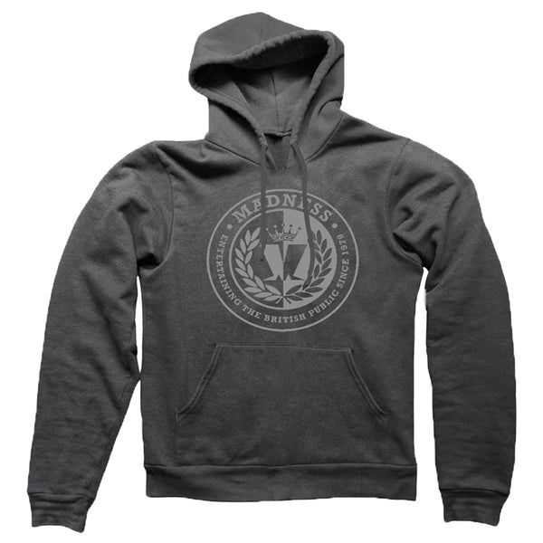 CIRCLE LOGO GREY HOODY