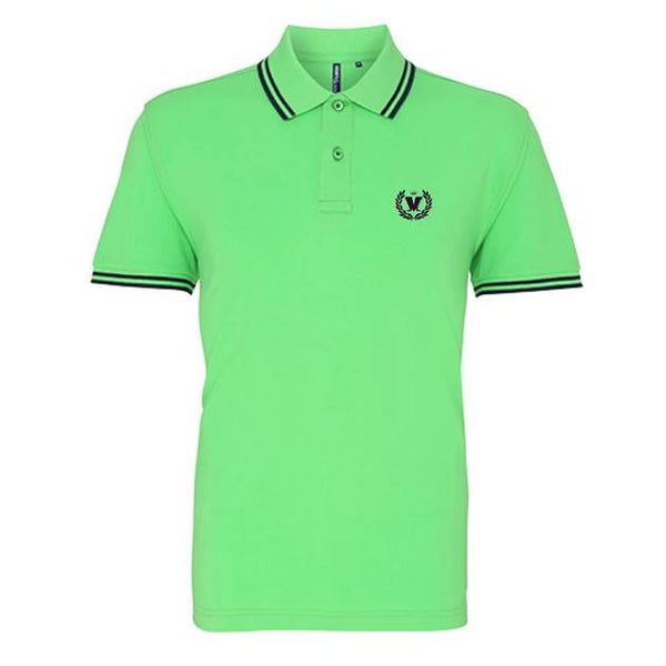 LIME & NAVY M LAUREL POLO