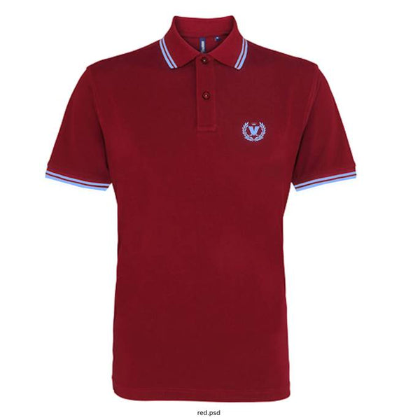 BURGUNDY & SKY M LAUREL POLO