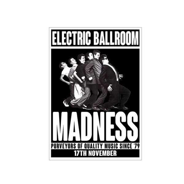 ELECTRIC BALLROOM A3 EVENT POSTER