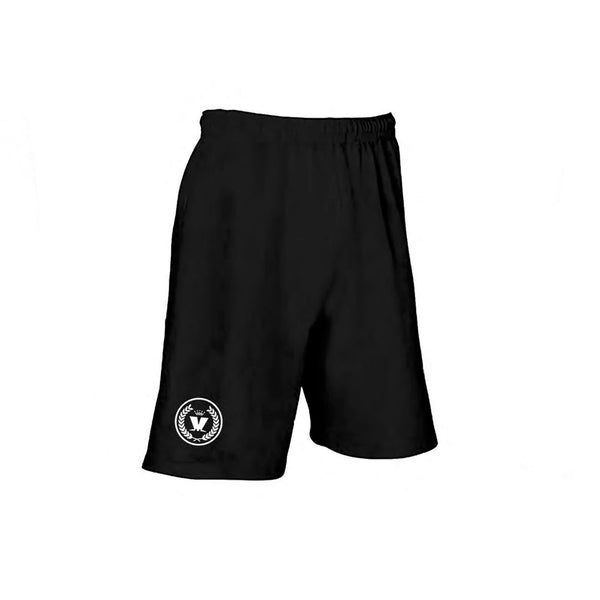 Round Laurel Shorts Black