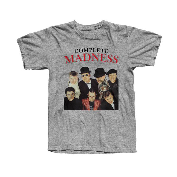 COMPLETE MADNESS SPORT GREY TEE