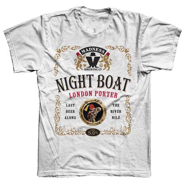 White Nightboat T-Shirt