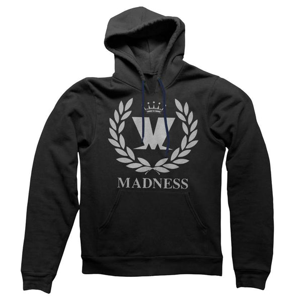 M Laurel Black / Grey Print Hoody