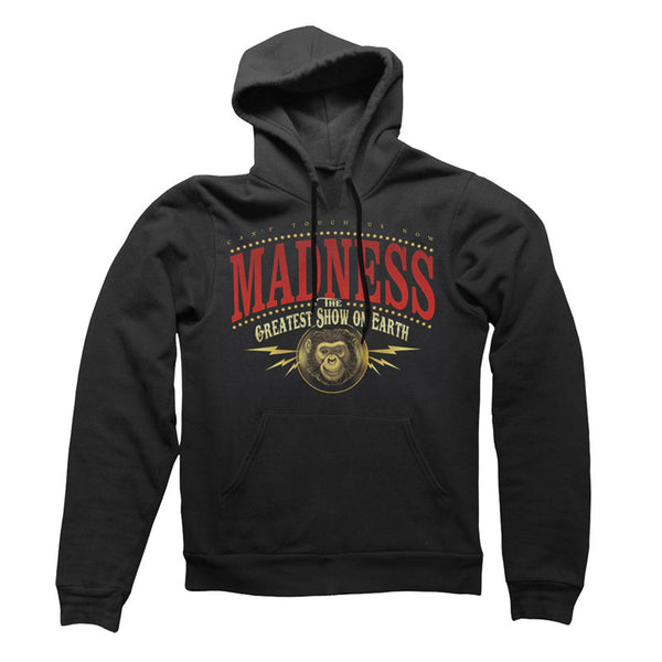 Greatest Show Monkey Black Hoody