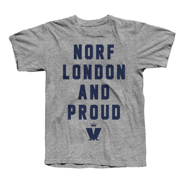 NORF London Grey T-Shirt
