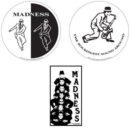 Vinyl Stickers - 3 Pack