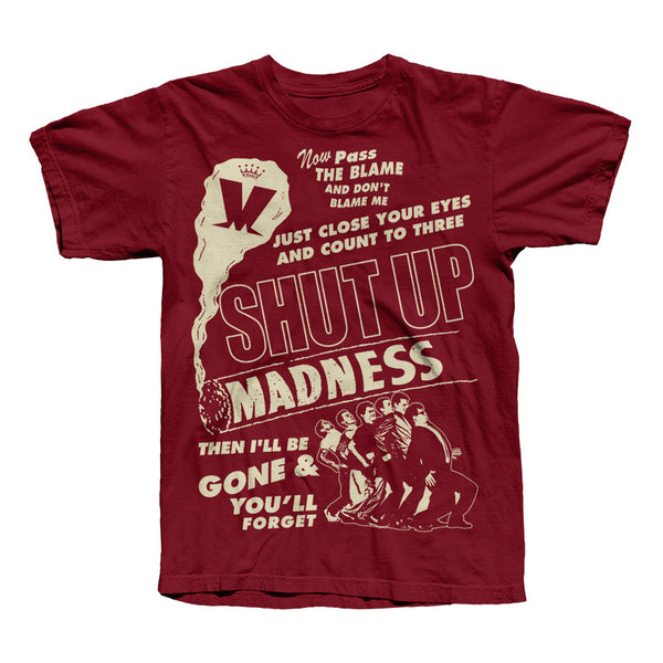 Shut Up Smoking Cardinal T-Shirt
