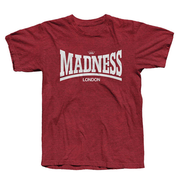 Madsdale Tee Heather Cardinal