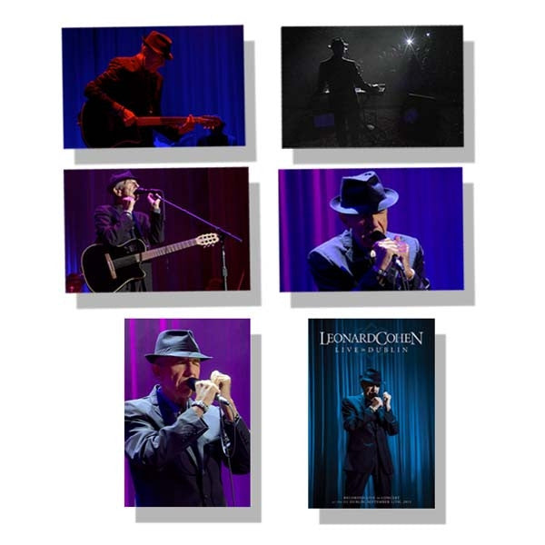 Live in Dublin Postcard Set