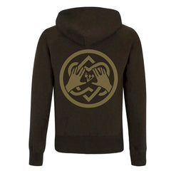 Come Healing Of The Heart Dark Brown Hoody