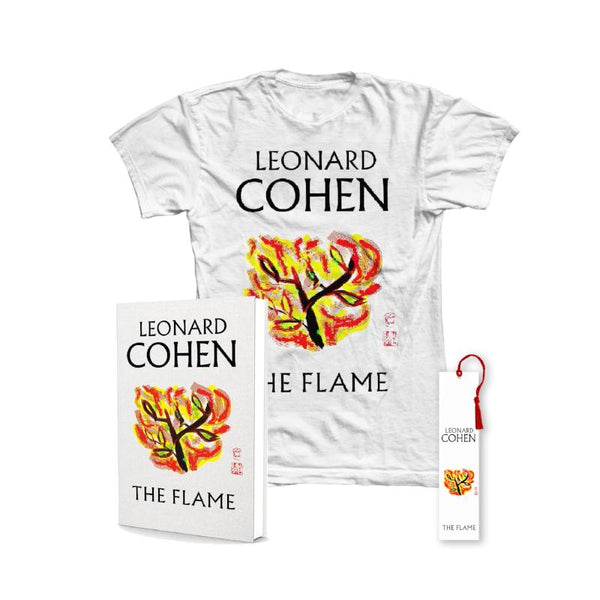 The Flame Book, Bookmark & T-Shirt Bundle - Ladies